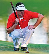 Keegan Bradley belly putter