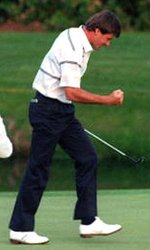 Seve Ballesteros Putting