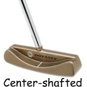 center shafted putter