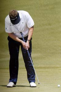 Colin Montgomerie belly putter