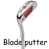 blade putter