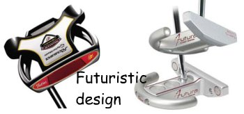 futuristic putter designs